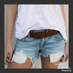 Pants - 🔥LAST PAIR 🔥Distressed Denim Shorts